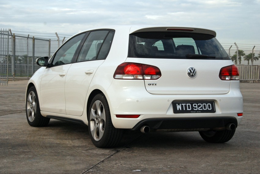 Volkswagen Golf GTI Mk6 Test Drive Review Image #155732