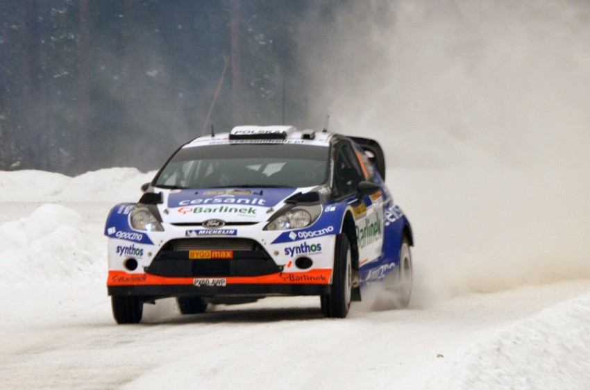 LIVE from Rally Sweden: Ex teammates Hirvonen and Latvala duel at the top, PG Andersson still leading S-WRC Image #87060