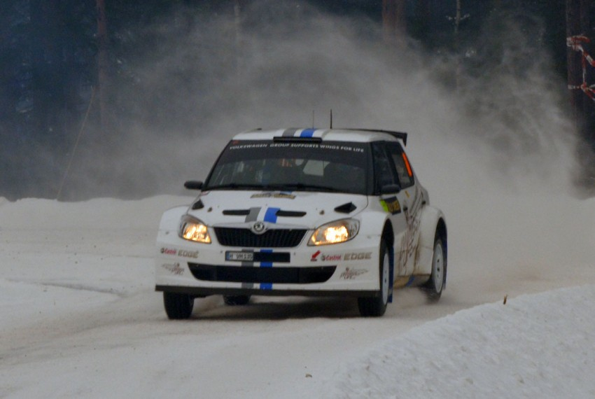 LIVE from Rally Sweden: Ex teammates Hirvonen and Latvala duel at the top, PG Andersson still leading S-WRC Image #87064