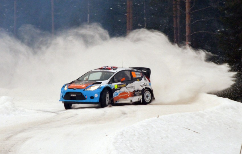 LIVE from Rally Sweden: Ex teammates Hirvonen and Latvala duel at the top, PG Andersson still leading S-WRC Image #87065