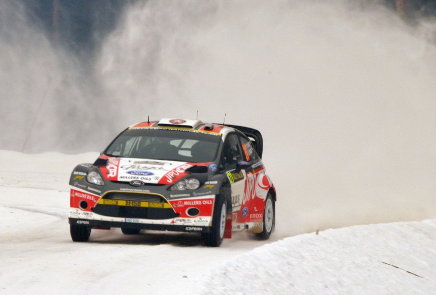 LIVE from Rally Sweden: Ex teammates Hirvonen and Latvala duel at the top, PG Andersson still leading S-WRC Image #87066