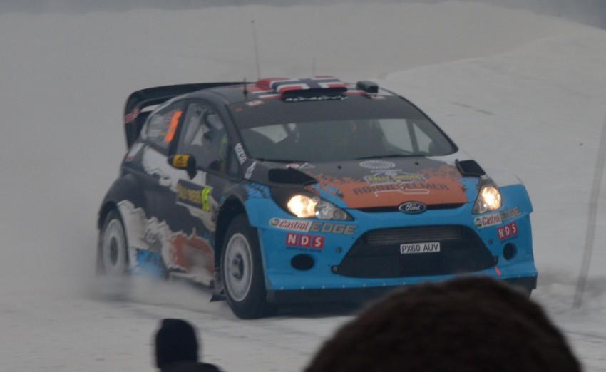 LIVE from Rally Sweden: Ex teammates Hirvonen and Latvala duel at the top, PG Andersson still leading S-WRC Image #87074
