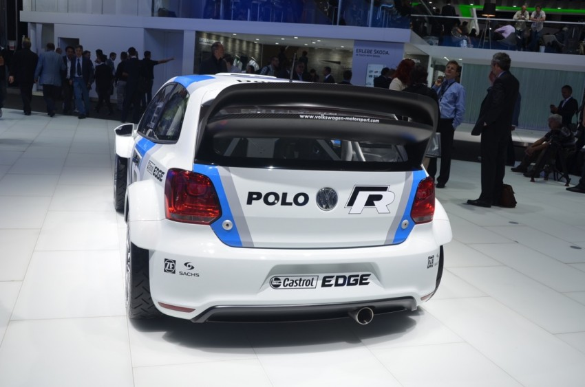 Volkswagen Polo R WRC – 300 horsepower rally car Image #69553