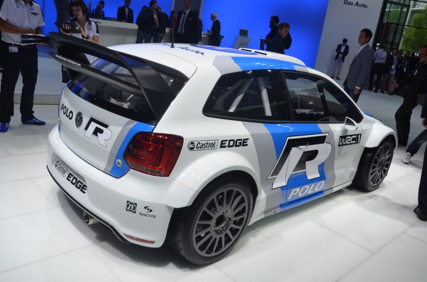 Volkswagen Polo R WRC – 300 horsepower rally car Image #69554