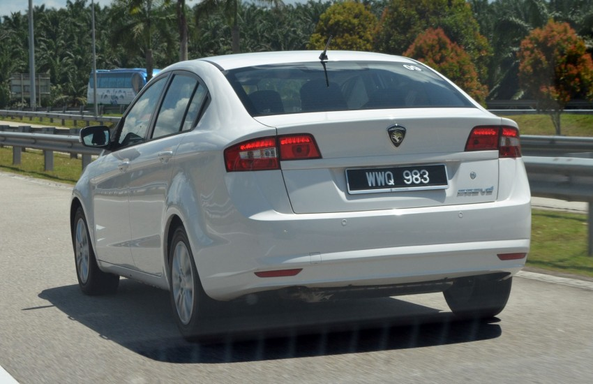 Proton Prevé Turbo CVT and IAFM Manual tested Image #103460
