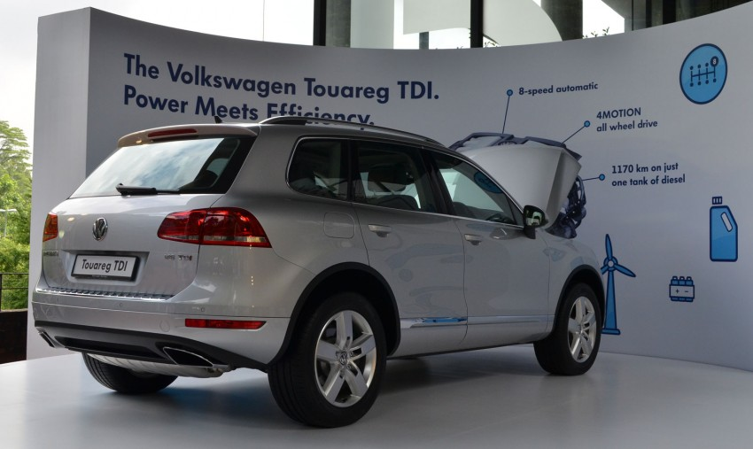 Volkswagen Touareg TDI launched, VGM's first diesel entry – 3.0L V6, 245 PS, 550 Nm, RM488,888 Image #139056