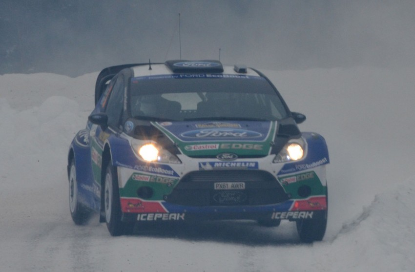 LIVE from Rally Sweden: Ex teammates Hirvonen and Latvala duel at the top, PG Andersson still leading S-WRC Image #87078