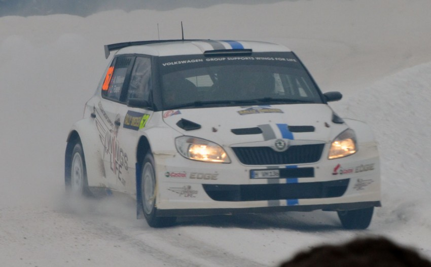 LIVE from Rally Sweden: Ex teammates Hirvonen and Latvala duel at the top, PG Andersson still leading S-WRC Image #87079