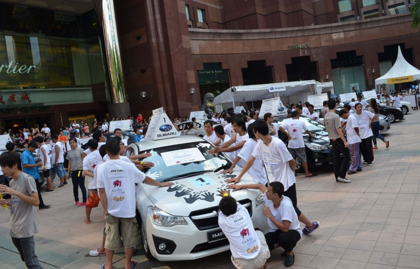 Subaru Challenge 2012 – The Asian Face-Off: Three Malaysians remain in the battle for a Subaru XV Image #138404