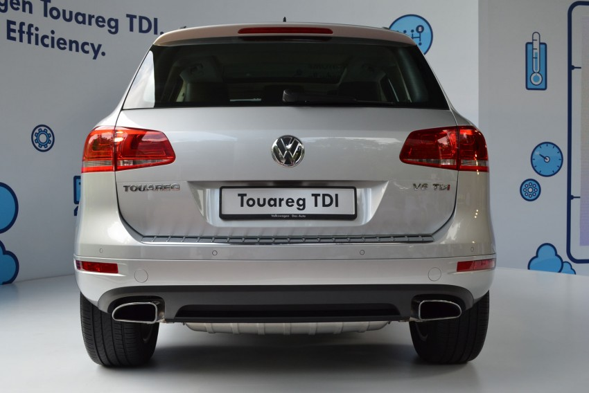 Volkswagen Touareg TDI launched, VGM's first diesel entry – 3.0L V6, 245 PS, 550 Nm, RM488,888 Image #139058