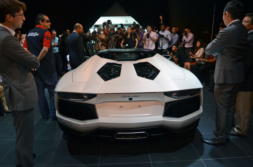 Lamborghini Aventador LP700-4 Roadster previewed in Malaysia – 18 months wait list, from RM3 million Image #142068