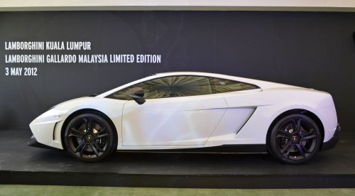 The Lamborghini Gallardo Malaysia Limited Edition Is Priced At RM868,000  Before Duties, Road Tax And Insurance. The On The Road Price However, ...