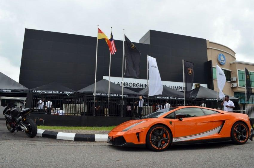 Lamborghini opens 3S centre in Glenmarie Image #108314