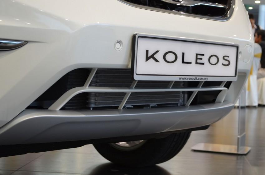 Renault Koleos facelift arrives – RM224k Image #110829
