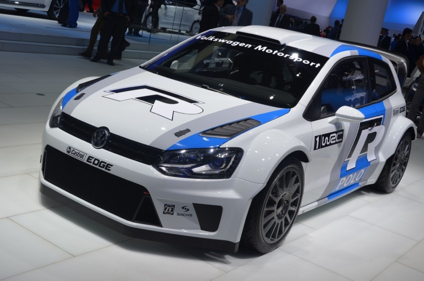 Volkswagen Polo R WRC – 300 horsepower rally car Image #69561