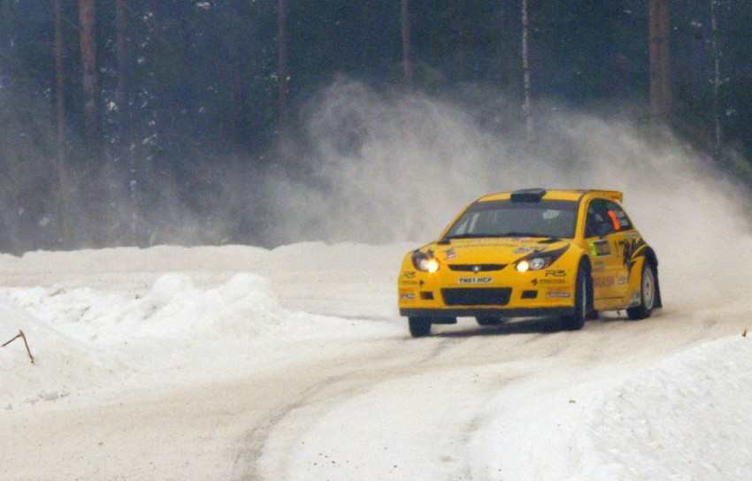 LIVE from Rally Sweden: Ex teammates Hirvonen and Latvala duel at the top, PG Andersson still leading S-WRC Image #87080