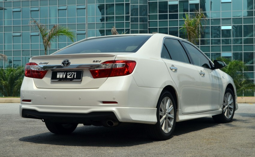 DRIVEN: Toyota Camry 2.5V Test Drive Report Image #135974