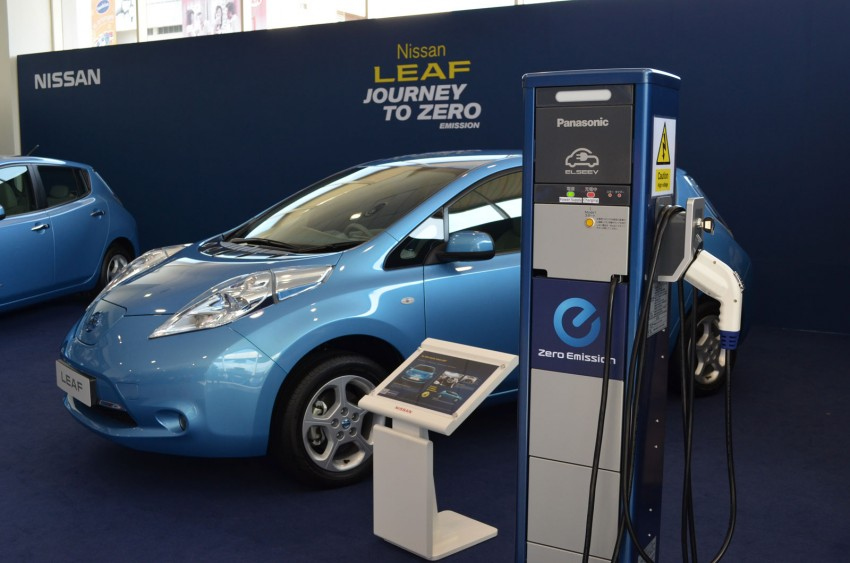 Nissan Leaf driven around the block – you can try it too! Image #104548