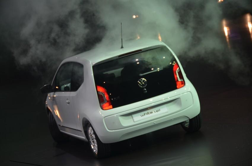 Volkswagen up! – production car debut at Frankfurt 2011 Image #69788