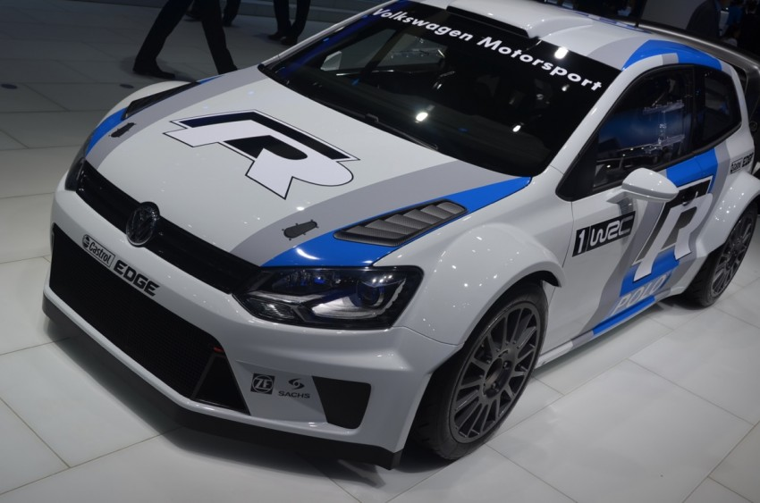 Volkswagen Polo R WRC – 300 horsepower rally car Image #69562