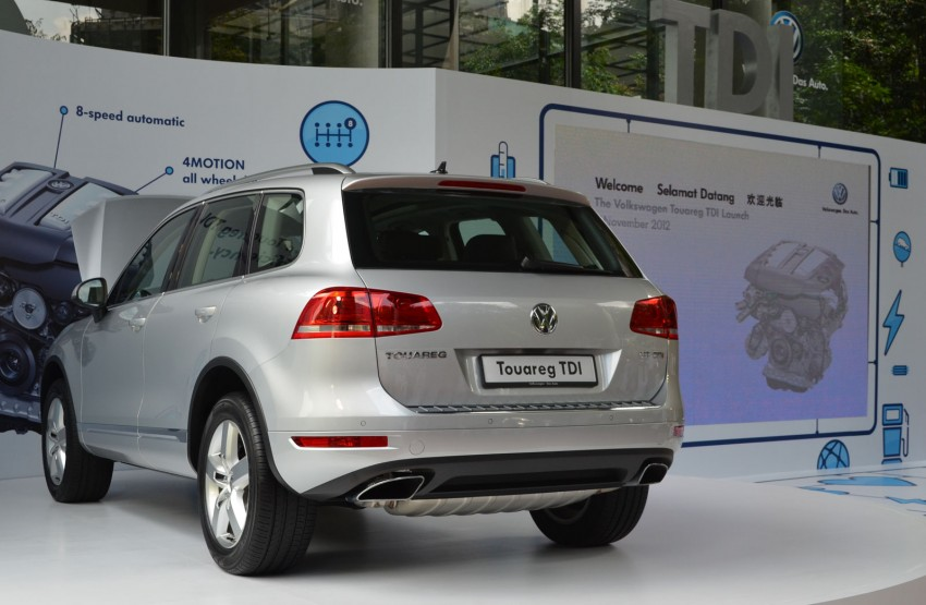Volkswagen Touareg TDI launched, VGM's first diesel entry – 3.0L V6, 245 PS, 550 Nm, RM488,888 Image #139060