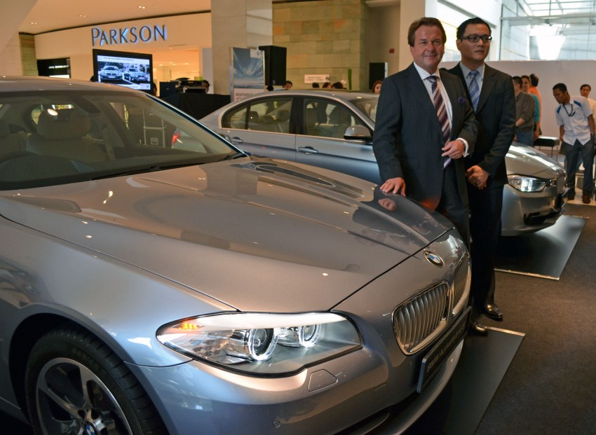 BMW ActiveHybrid 3 and ActiveHybrid 5 sedans officially launched – RM538,800 and RM648,800 Image #138142