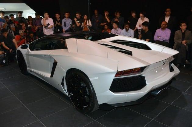 Lamborghini Aventador Lp700 4 Roadster Previewed In Malaysia 18