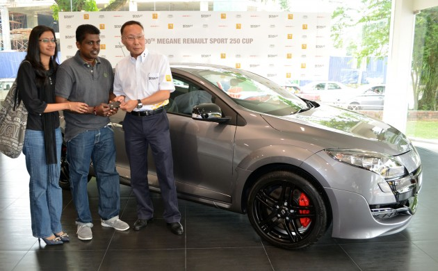 Tc Euro Cars Delivers 100th Renault Megane Rs