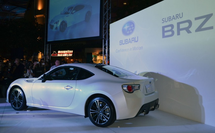 Subaru BRZ set for fourth quarter Malaysian launch – first impressions and full gallery from Singapore Image #99450