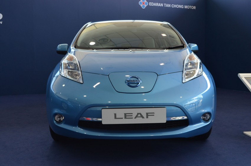 Nissan Leaf driven around the block – you can try it too! Image #104551