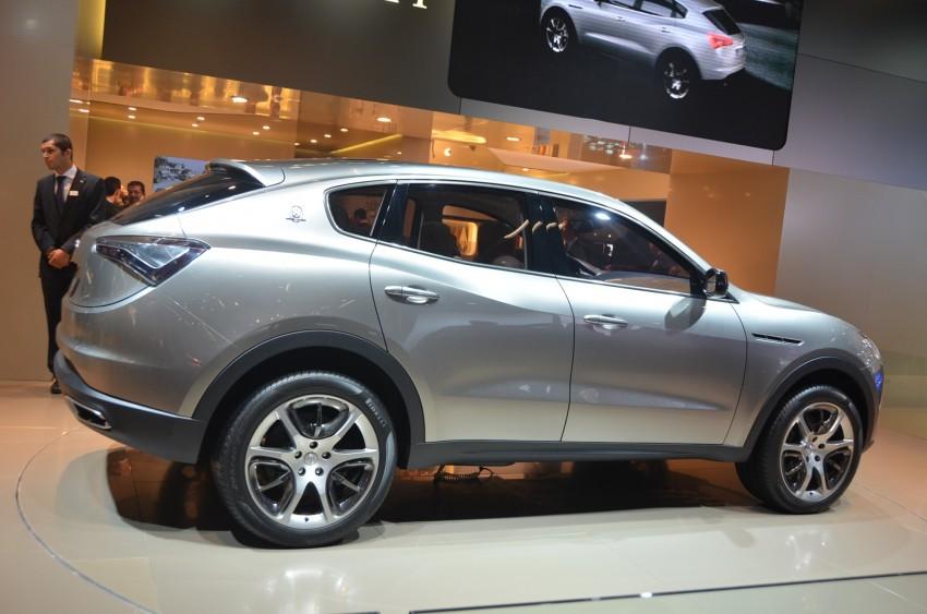 Frankfurt: Maserati joins super SUV race with a Kubang! Image #68994