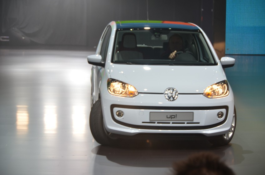 Volkswagen up! – production car debut at Frankfurt 2011 Image #69790