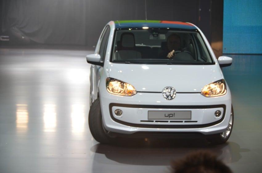 Volkswagen up! – production car debut at Frankfurt 2011 Image #69790