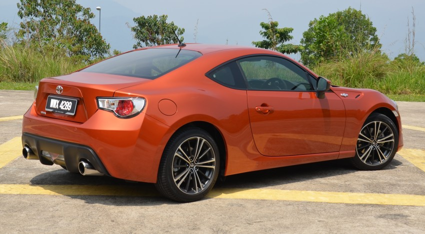 DRIVEN: Toyota 86 – a true gem under the veneer Image #115632