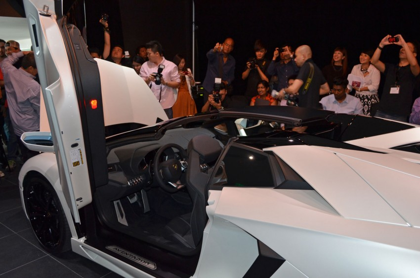 Lamborghini Aventador LP700-4 Roadster previewed in Malaysia – 18 months wait list, from RM3 million Image #142075