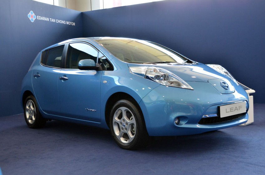 Nissan Leaf driven around the block – you can try it too! Image #104552