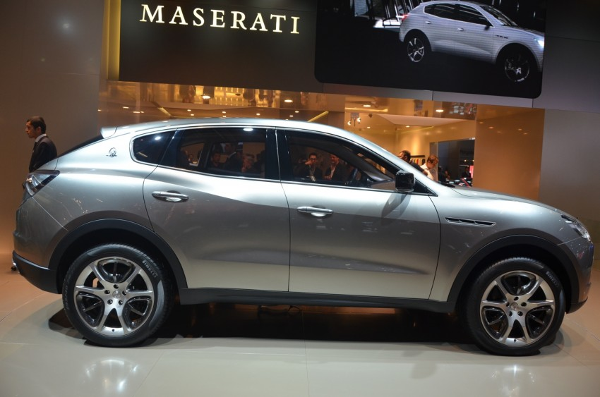 Frankfurt: Maserati joins super SUV race with a Kubang! Image #68995