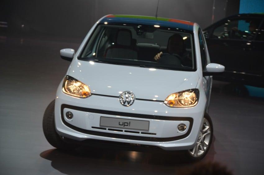 Volkswagen up! – production car debut at Frankfurt 2011 Image #69791