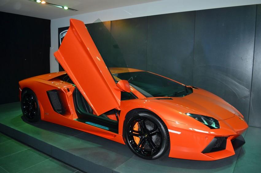 Lamborghini opens 3S centre in Glenmarie Image #108317