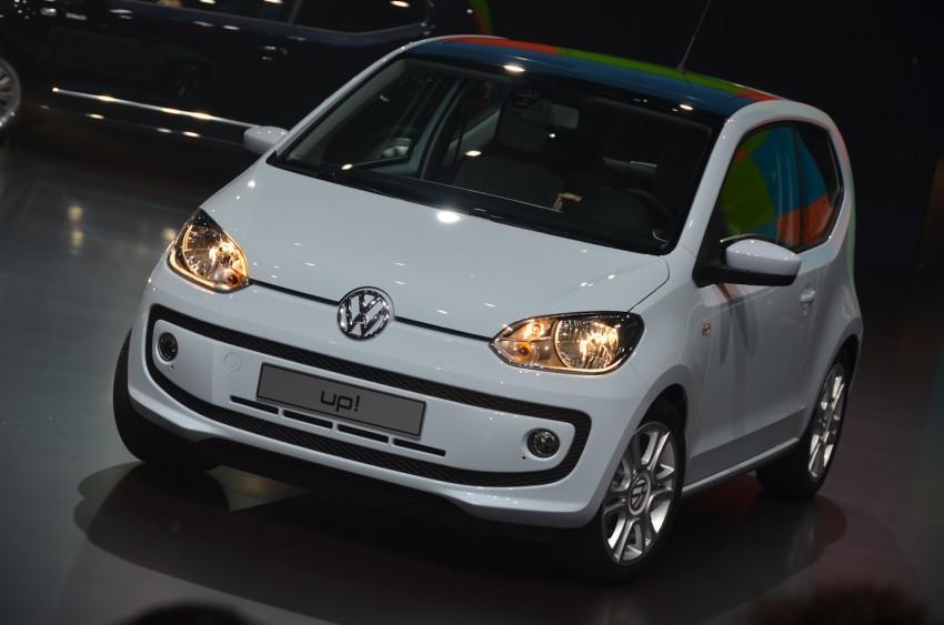 Volkswagen up! – production car debut at Frankfurt 2011 Image #69792