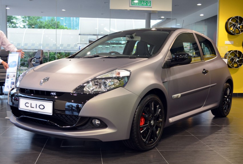 "Local Market Tool >> Renault Clio R.S ""Ange & Démon"" rolls in - RM199k"