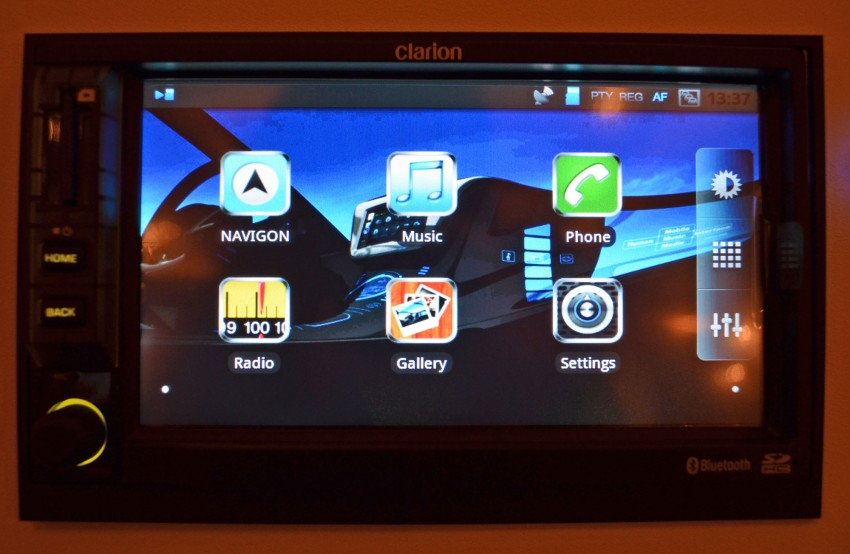 Clarion launches Mirage, the first Android-based OEM grade car stereo – retail sales to start in fourth quarter Image #95952
