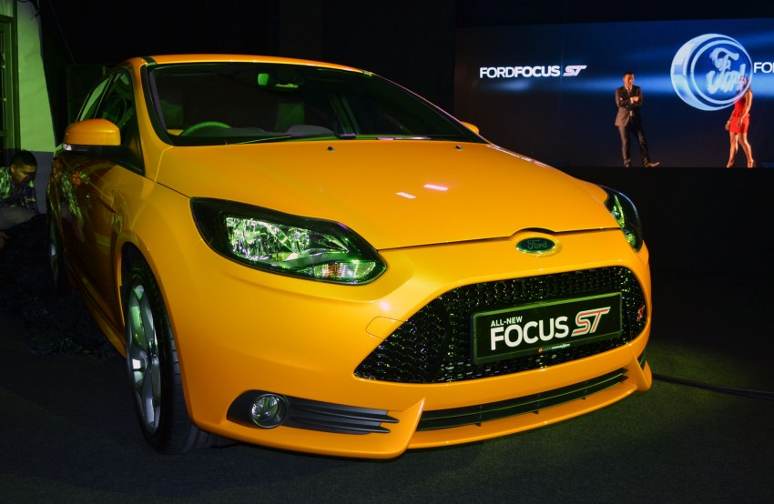 Ford Focus ST – the GTI challenger arrives, RM209k Image #131124