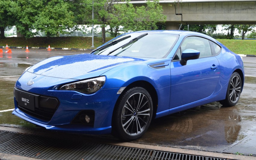 Subaru BRZ set for fourth quarter Malaysian launch – first impressions and full gallery from Singapore Image #98537