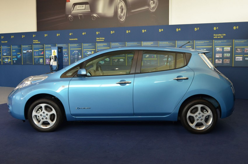 Nissan Leaf driven around the block – you can try it too! Image #104556