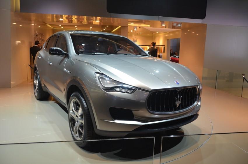 Frankfurt: Maserati joins super SUV race with a Kubang! Image #68999