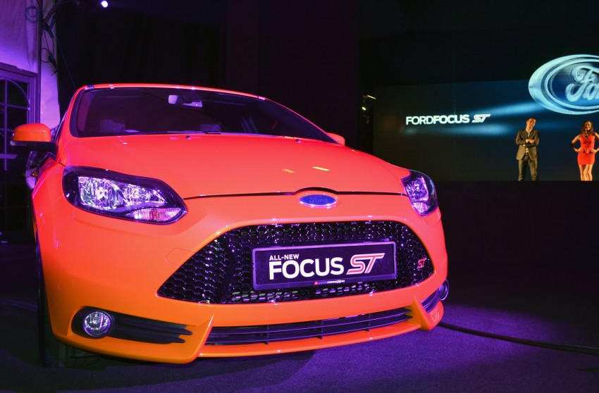 Ford Focus ST – the GTI challenger arrives, RM209k Image #131125