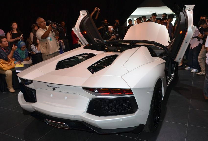 Lamborghini Aventador LP700-4 Roadster previewed in Malaysia – 18 months wait list, from RM3 million Image #142078