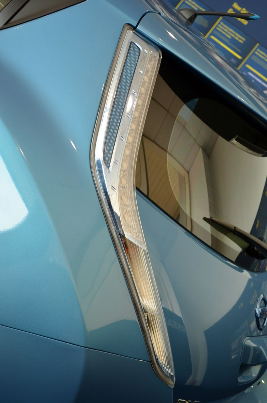 Nissan Leaf driven around the block – you can try it too! Image #104557