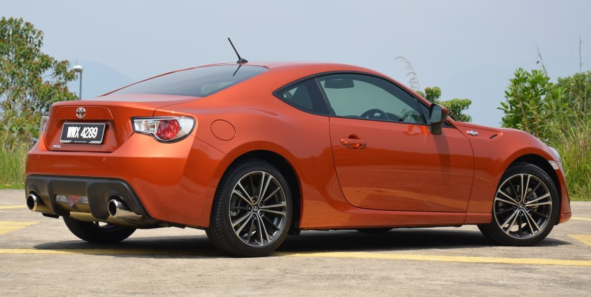 DRIVEN: Toyota 86 – a true gem under the veneer Image #115451